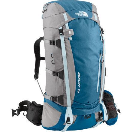 photo: The North Face Women's Zealot 70 weekend pack (3,000 - 4,499 cu in)