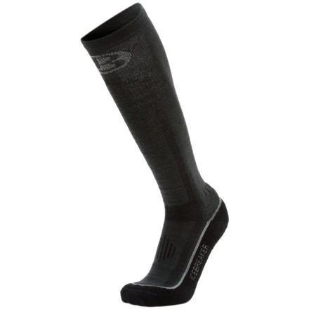 photo: Icebreaker Men's Ski Lite Over the Calf Sock snowsport sock
