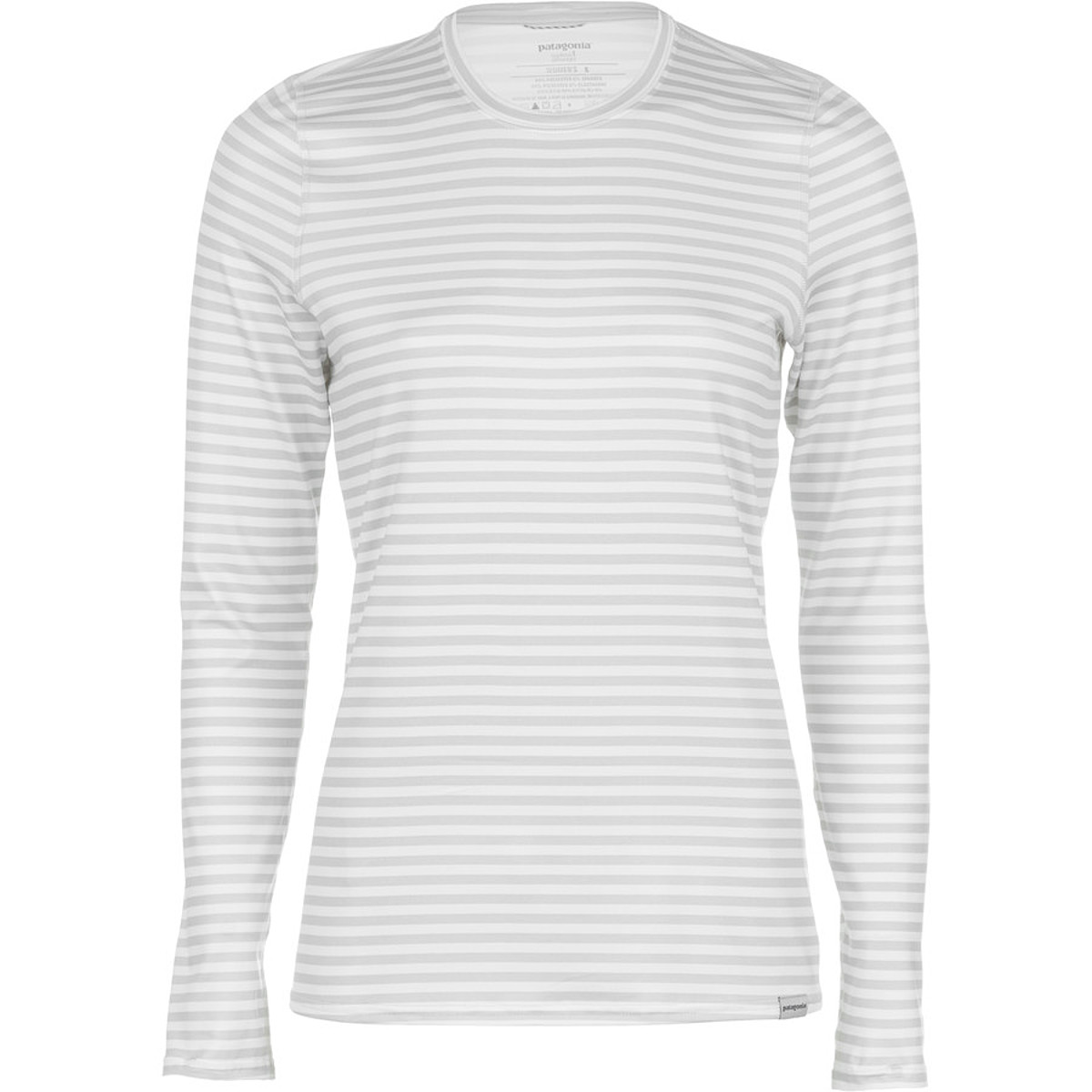 photo: Patagonia Women's Capilene 1 Silkweight Graphic Crew base layer top
