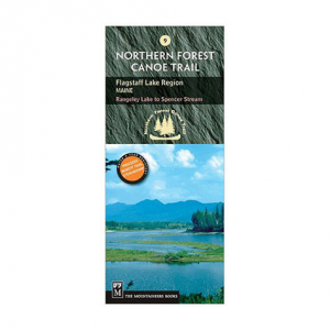The Mountaineers Books Northern Forest Canoe Trail Map #9 - Flagstaff Lake Maine