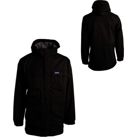photo: Patagonia Eco Rain Shell Jacket waterproof jacket