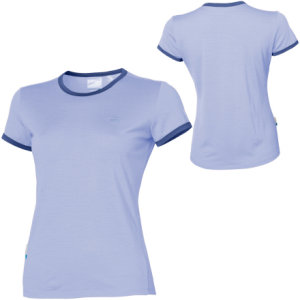 photo: Icebreaker Women's Superfine 190 Tech T short sleeve performance top