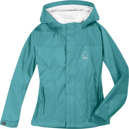 photo: Sierra Designs Girls' Hurricane Jacket waterproof jacket