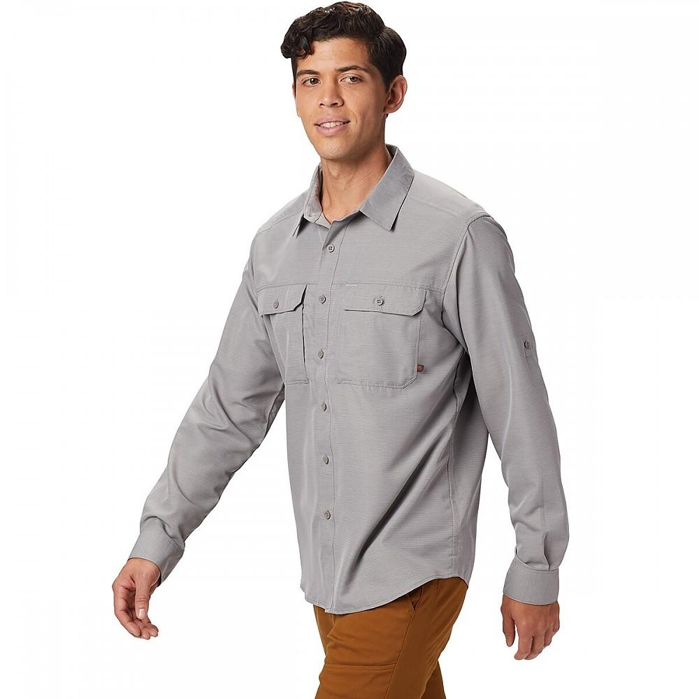 photo: Mountain Hardwear Canyon Shirt Long Sleeve hiking shirt