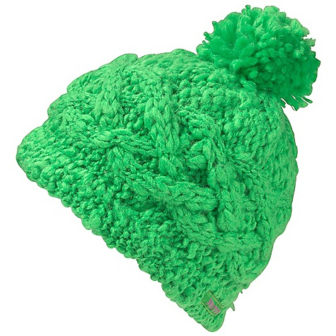photo: Marmot Girls' Chunky Pom Hat winter hat