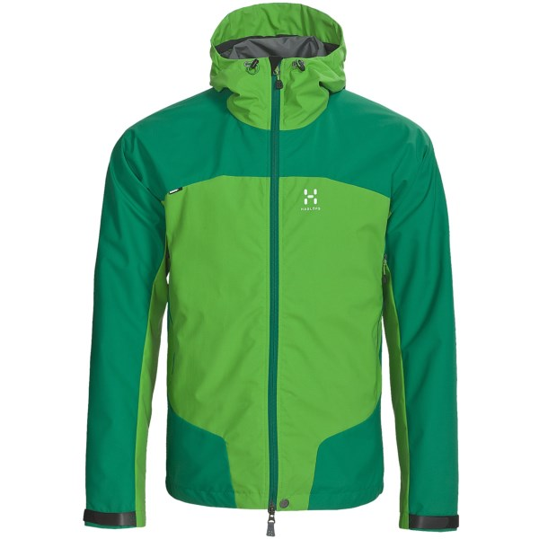 photo: Haglofs Sirocco Jacket soft shell jacket