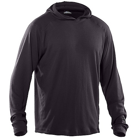 photo: Under Armour Waffle Hoodie long sleeve performance top