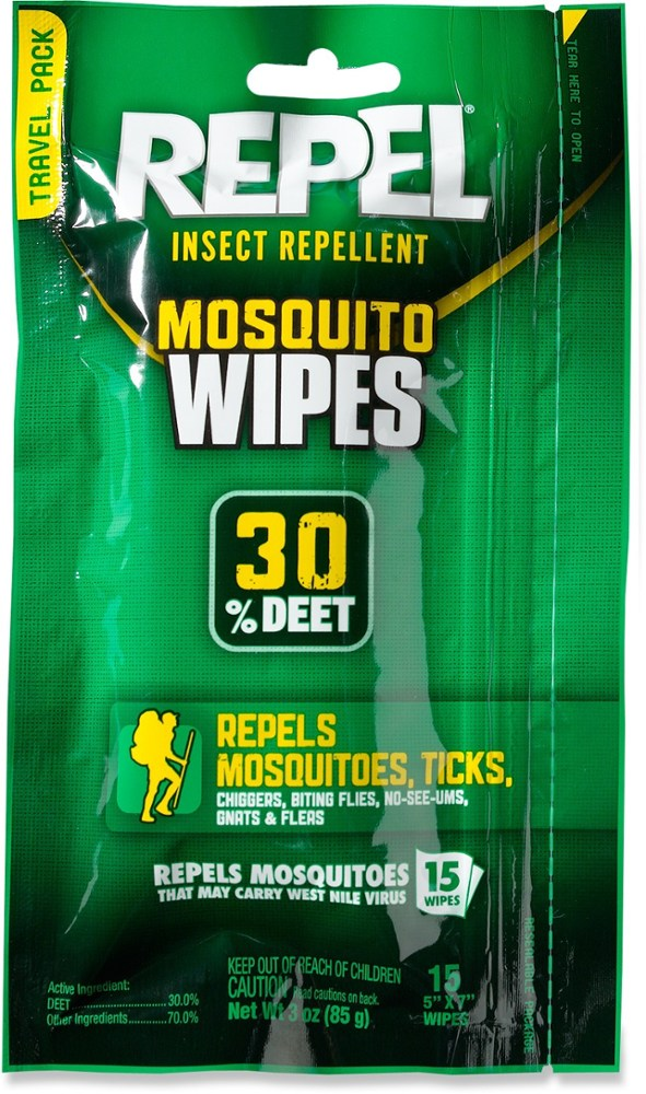 Repel Sportsmen Insect Repellent Wipes
