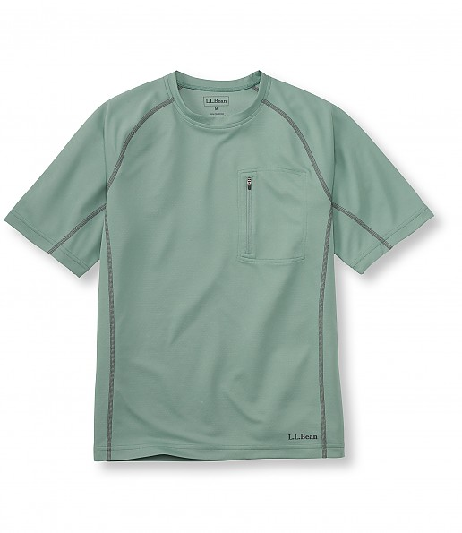 L.L.Bean Coolweave Technical Fishing Shirt, Short-Sleeve
