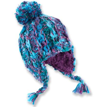 REI Chunky Knit Peruvian Hat