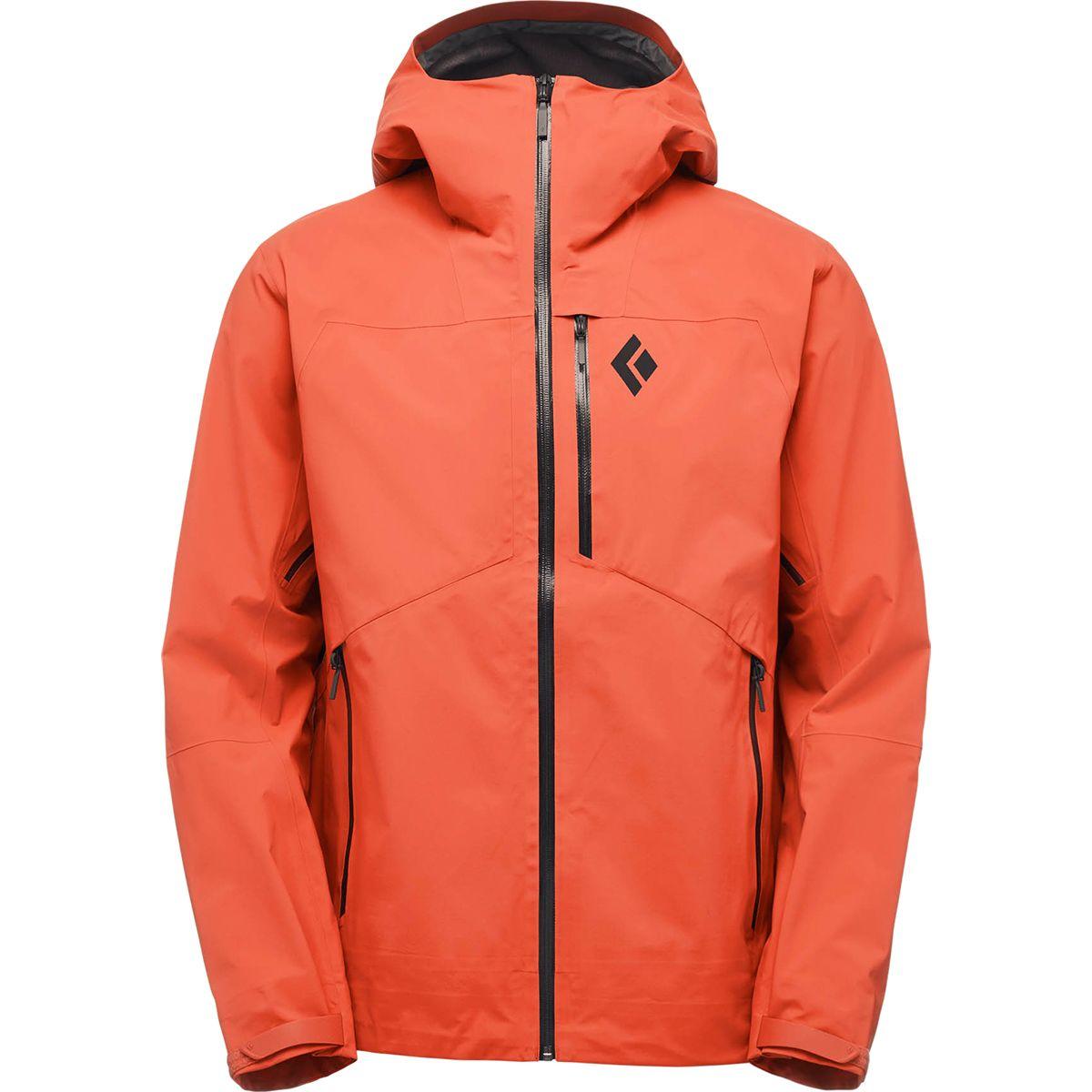 photo: Black Diamond Sharp End Shell waterproof jacket