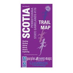 Purple Lizard Maps Scotia Trails & History Map