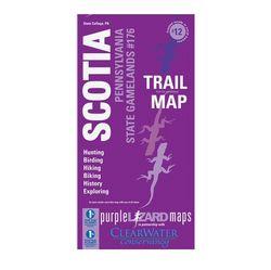 photo: Purple Lizard Maps Scotia Trails & History Map us northeast paper map