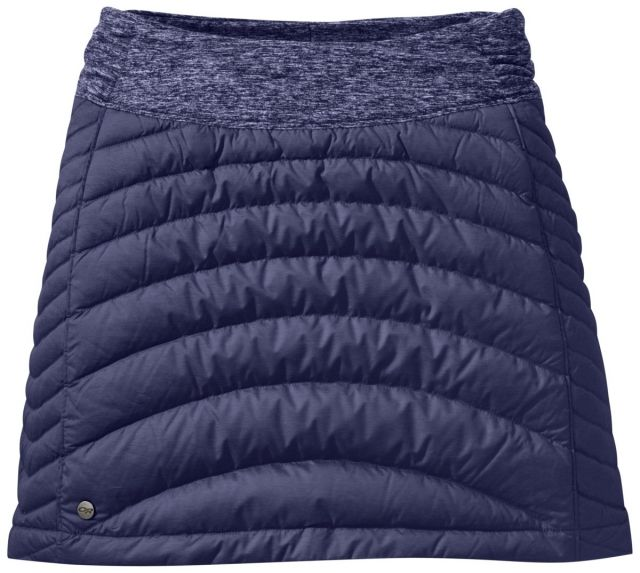 photo: Outdoor Research Plaza Down Skirt hiking skirt