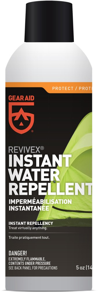 photo: ReviveX Air Dry Water Repellent Spray equipment cleaner/treatment
