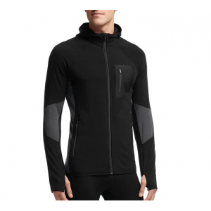 Icebreaker Atom Long Sleeve Zip Hood