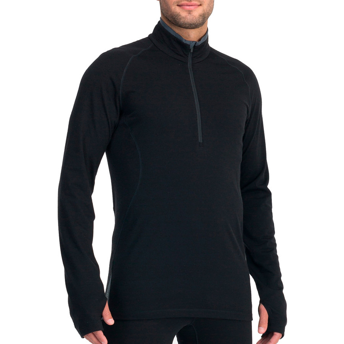 photo: Icebreaker 200 Lightweight LS Sprint Zip long sleeve performance top