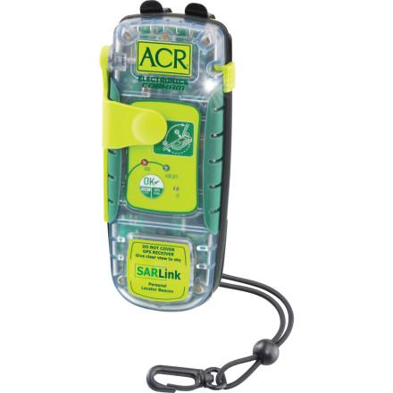photo: ACR SARLink 406 locator beacon