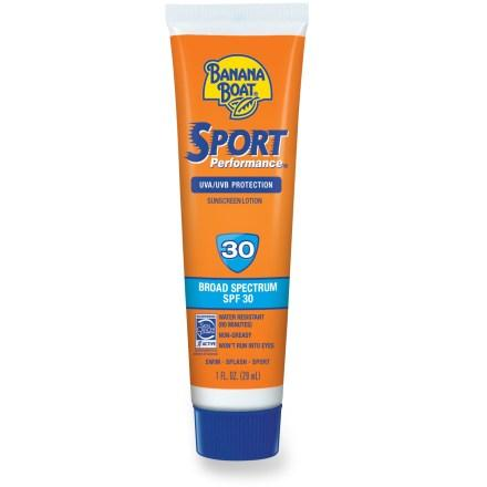 photo: Banana Boat Sport Performance SPF 30 Lotion sunscreen