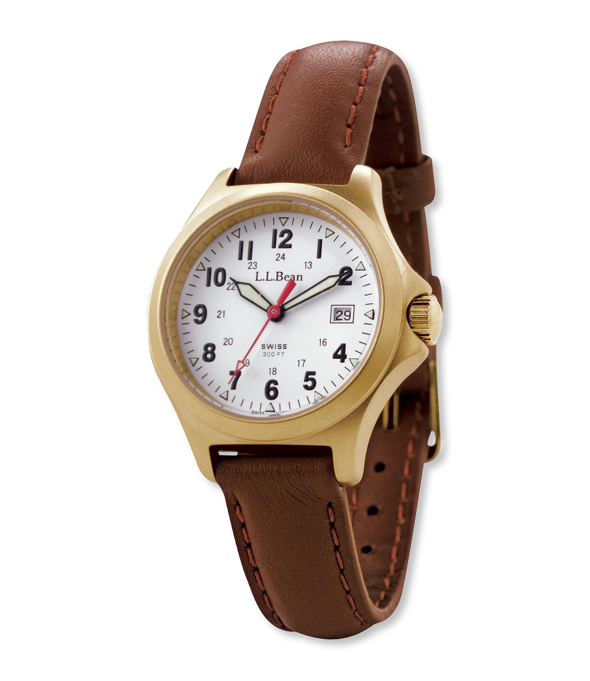 photo: L.L.Bean Women's Classic Field Watch analog watch