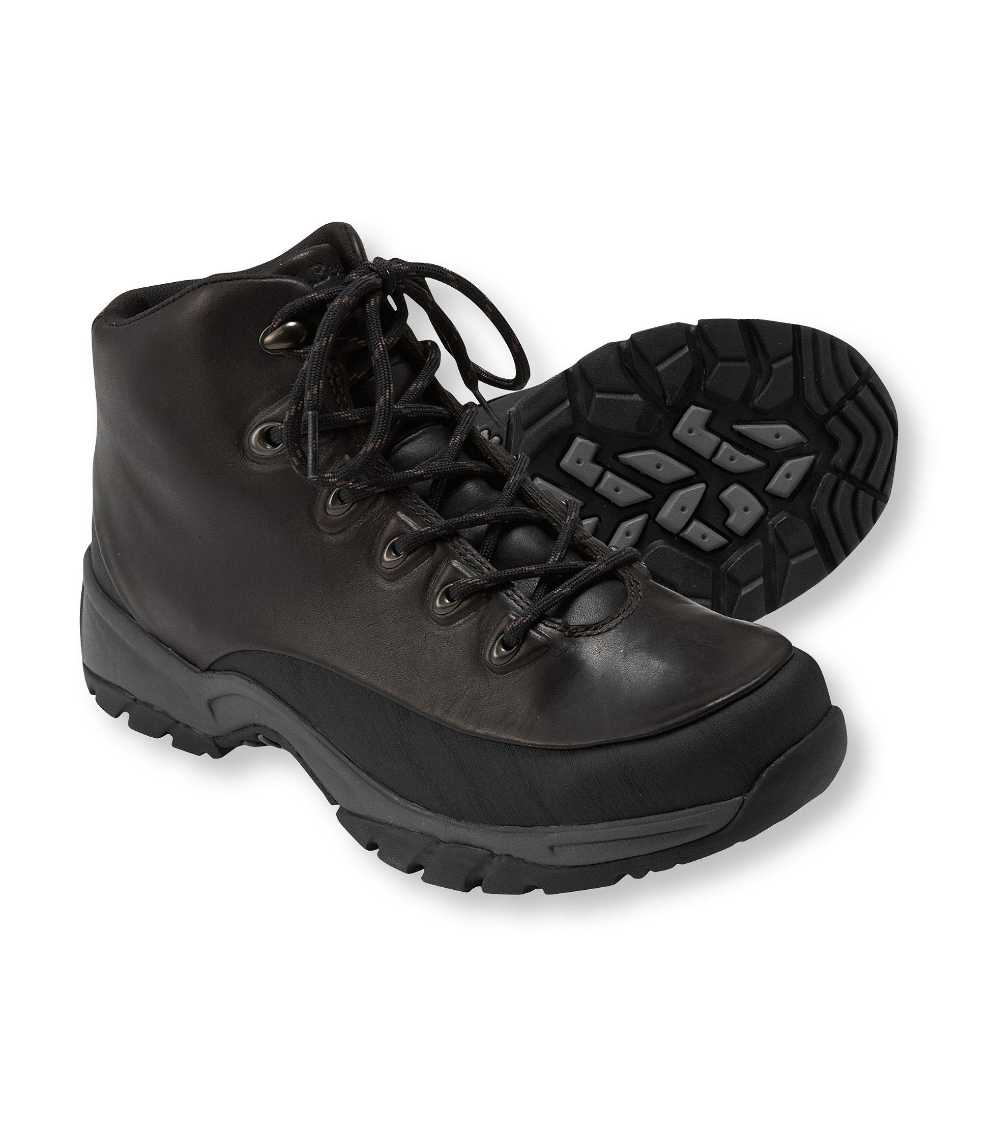 L.L.Bean Trail Model Walker, Waterproof Leather Mid