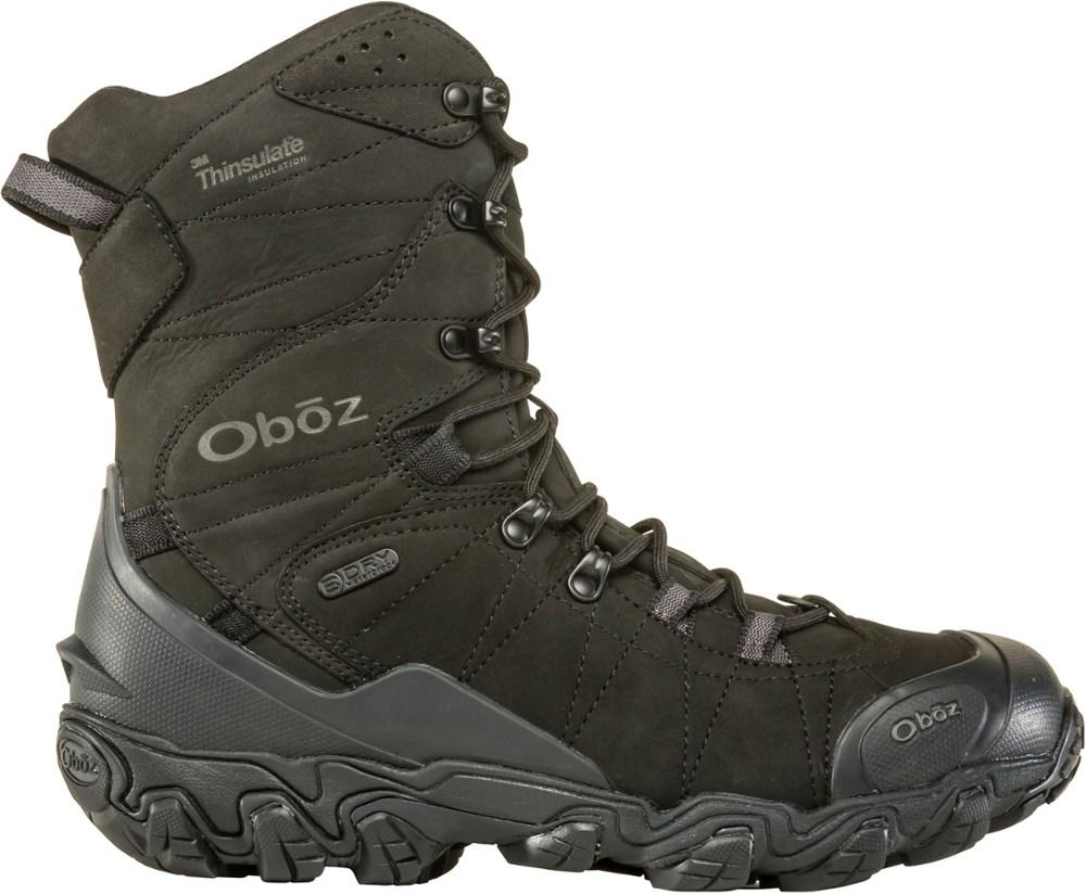 """Oboz Bridger 10"""" Insulated Waterproof"""