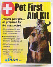 AGS Labs Pet First Aid Kit