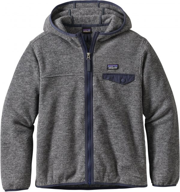 photo: Patagonia Boys' Lightweight Synchilla Snap-T Hoody fleece jacket