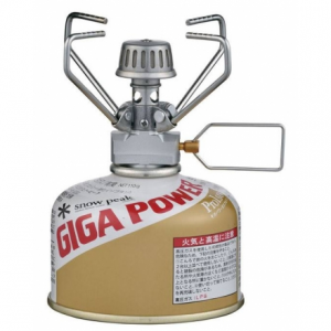 photo: Snow Peak GigaPower Manual compressed fuel canister stove