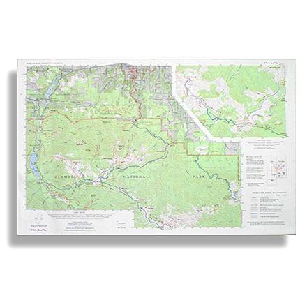 Little River Enterprises Custom Correct Hurricane Ridge Map