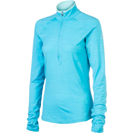 photo: Icebreaker 200 Lightweight LS Pace Zip long sleeve performance top
