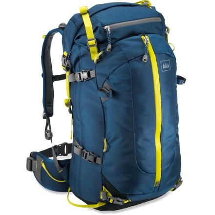 photo: REI Pinnacle 35 Pack winter pack