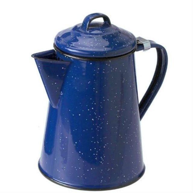 photo: GSI Outdoors Sierra Campware Enamelware Coffee Pot kettle