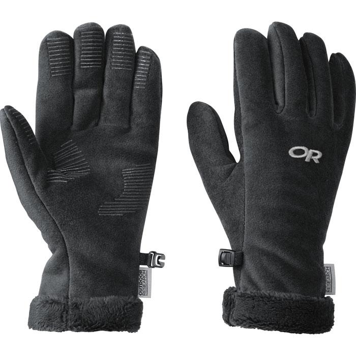 photo: Outdoor Research Fuzzy Gloves fleece glove/mitten
