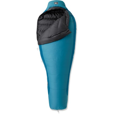 photo: REI Women's Radiant +20 3-season down sleeping bag