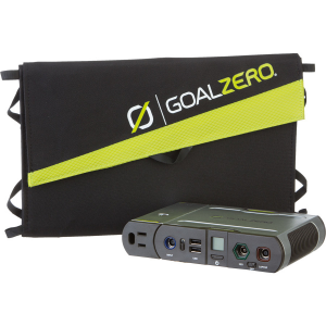 Goal Zero Sherpa 100 Power Bank + Nomad 20 Solar Panel Kit