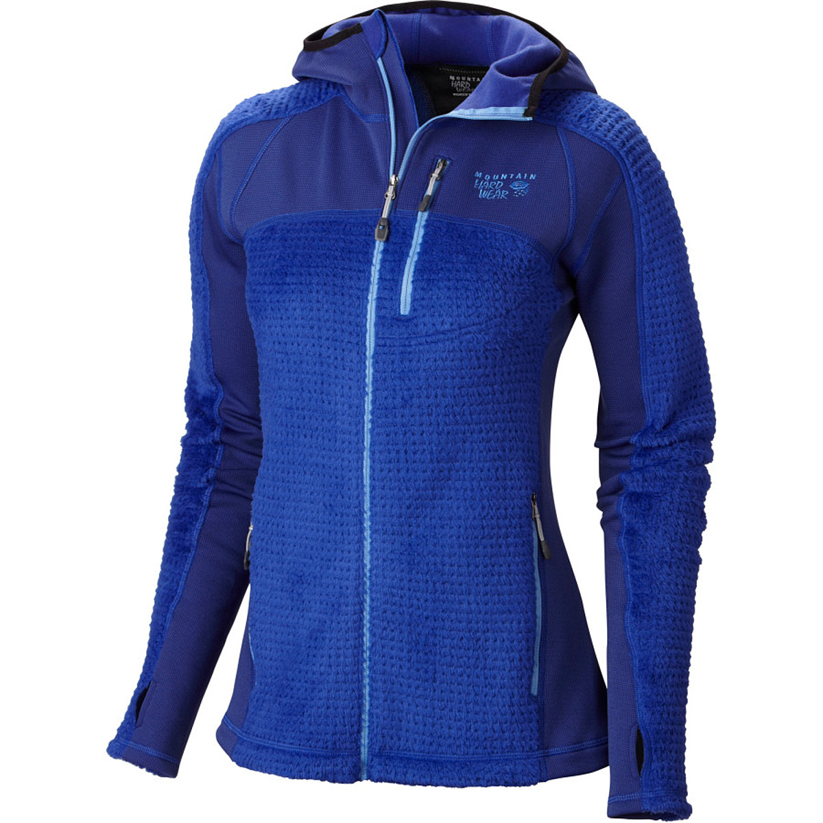 photo: Mountain Hardwear Monkey Woman Grid Jacket fleece top
