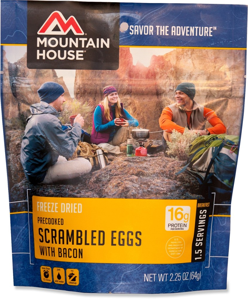 photo: Mountain House Scrambled Eggs with Bacon breakfast