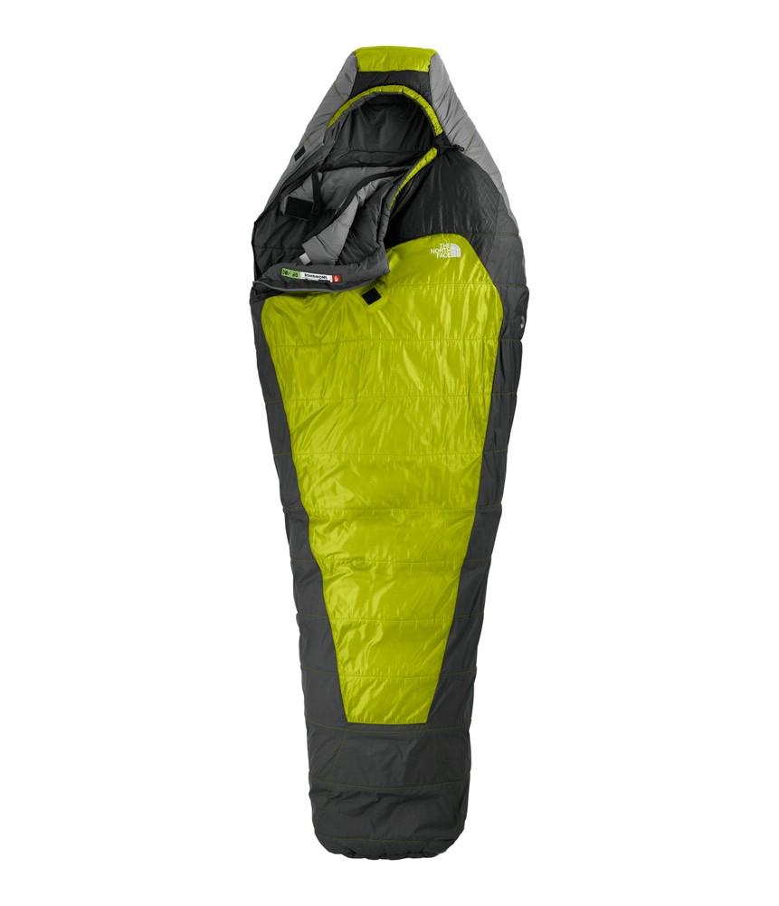 photo: The North Face Snowshoe 3-season synthetic sleeping bag