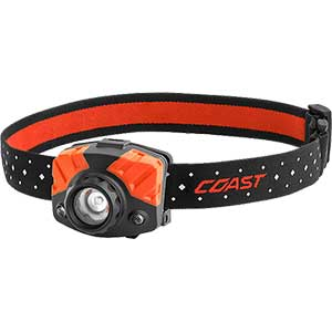 photo: Coast FL75R headlamp