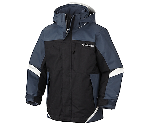 photo: Columbia Boys' Bugaboo Interchange Parka component (3-in-1) jacket