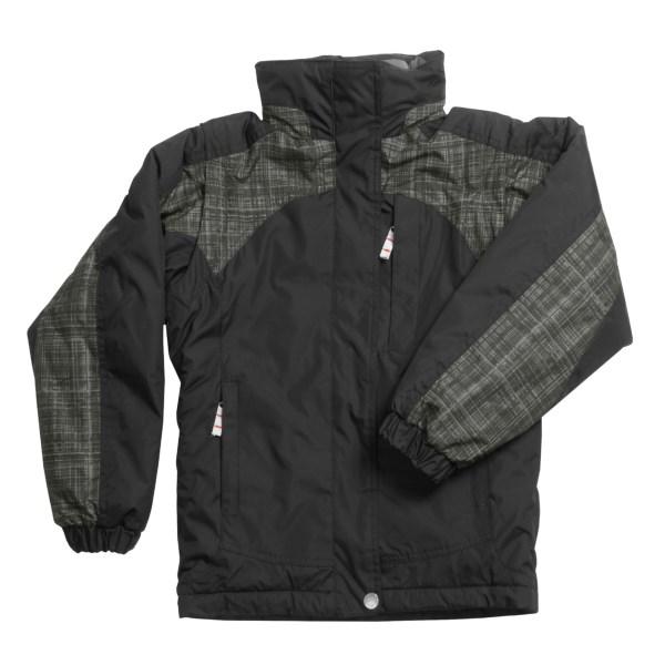 White Sierra Betty Sue Zip-Off Sleeve  Jacket