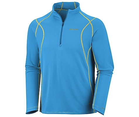photo: Columbia Insect Blocker Sporty 1/2 Zip long sleeve performance top