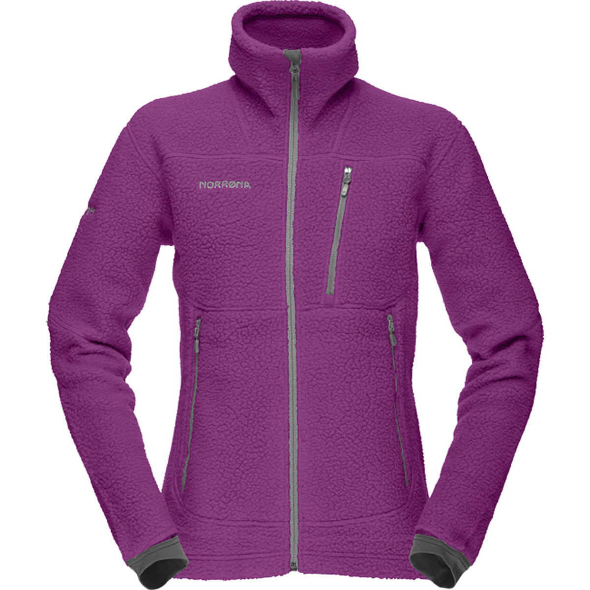 photo: Norrona Women's Trollveggen Warm2 Jacket fleece jacket