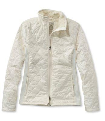 L.L.Bean Fleece-Lined Fitness Workout Jacket
