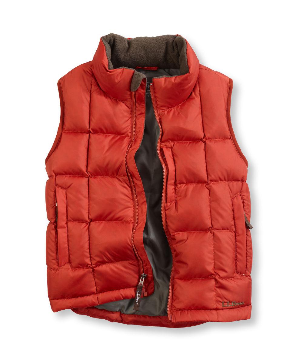 photo: L.L.Bean Boys' Goose Down Vest down insulated vest