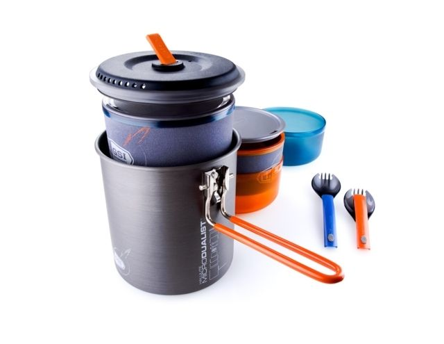 GSI Outdoors Halulite Microdualist Cookset