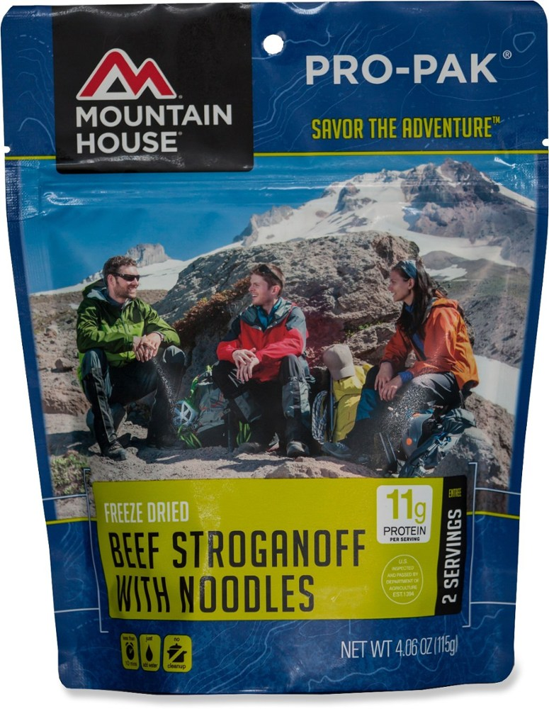 Mountain House Beef Stroganoff with Noodles