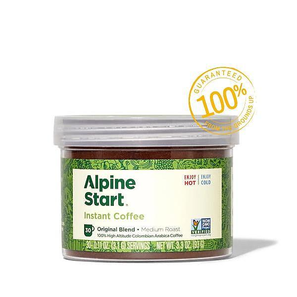 photo: Alpine Start Original Blend Medium Roast Instant Coffee coffee