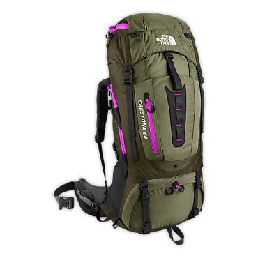 photo: The North Face Women's Crestone 60 weekend pack (3,000 - 4,499 cu in)